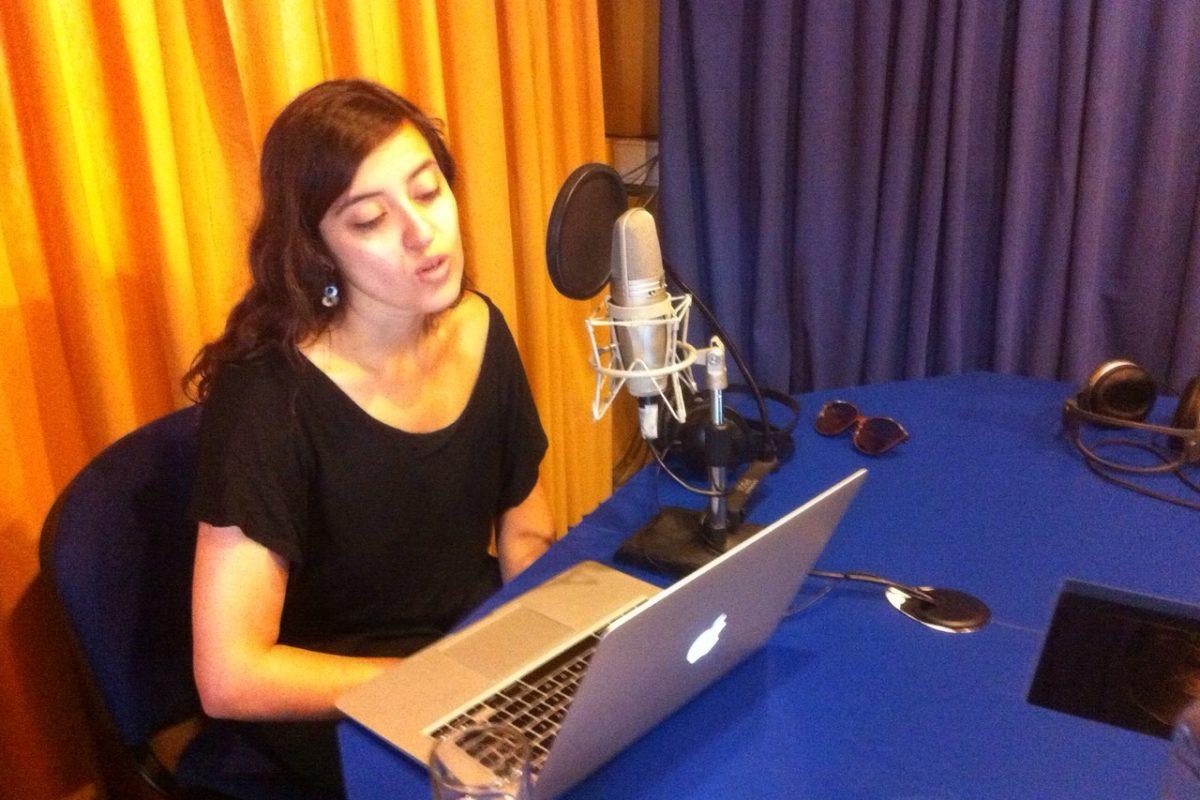 Inés Bascuñán voz de Angélica Escobar hija de Miguel Ovalle