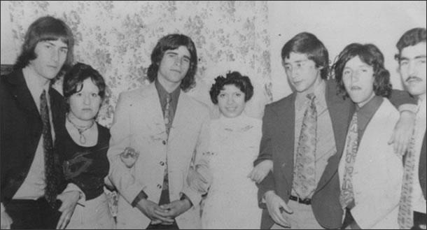 Manuel Tamayo Martínez, tercero de izquierda a derecha.