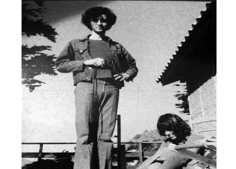Jorge Müller y Carmen Bueno, en el Litoral Central, 1974.