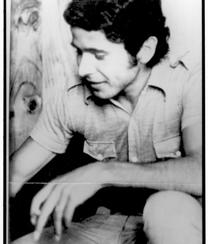 Jorge en su época de estudiante de medicina y militante del MIR.