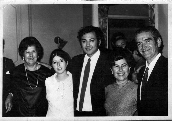 Matrimonio de Marcelo Concha Bascuñán y Aminta Traverso Bernashina, el 28 de Mayo de 1971, Chile.