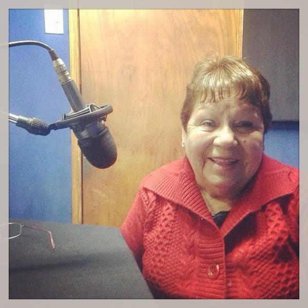 Olga Linares madre de Marisol Vera