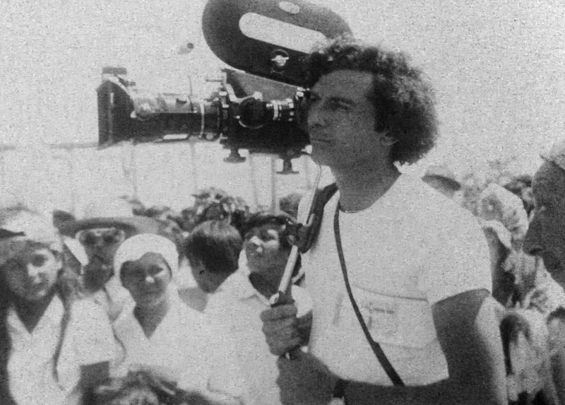 Jorge y su cámara, años '70.