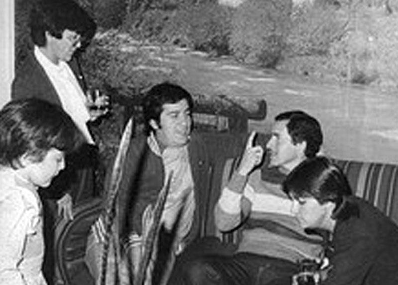 Manuel, Owana y amigxs, Santiago, años '80.