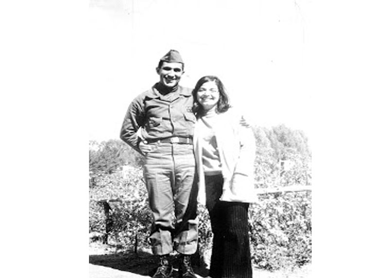 Mónica y Roberto Gallardo, 1973