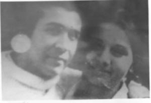 Con su compañero Renato Sepúlveda, también desaparecido.