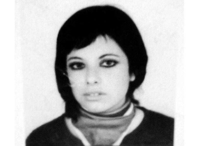Una de sus últimas Foto Carnet, 1972.