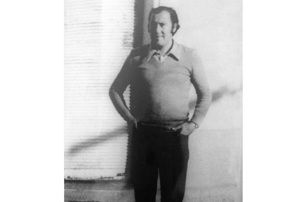 Plutarco Coussy en Concepción, 1973.