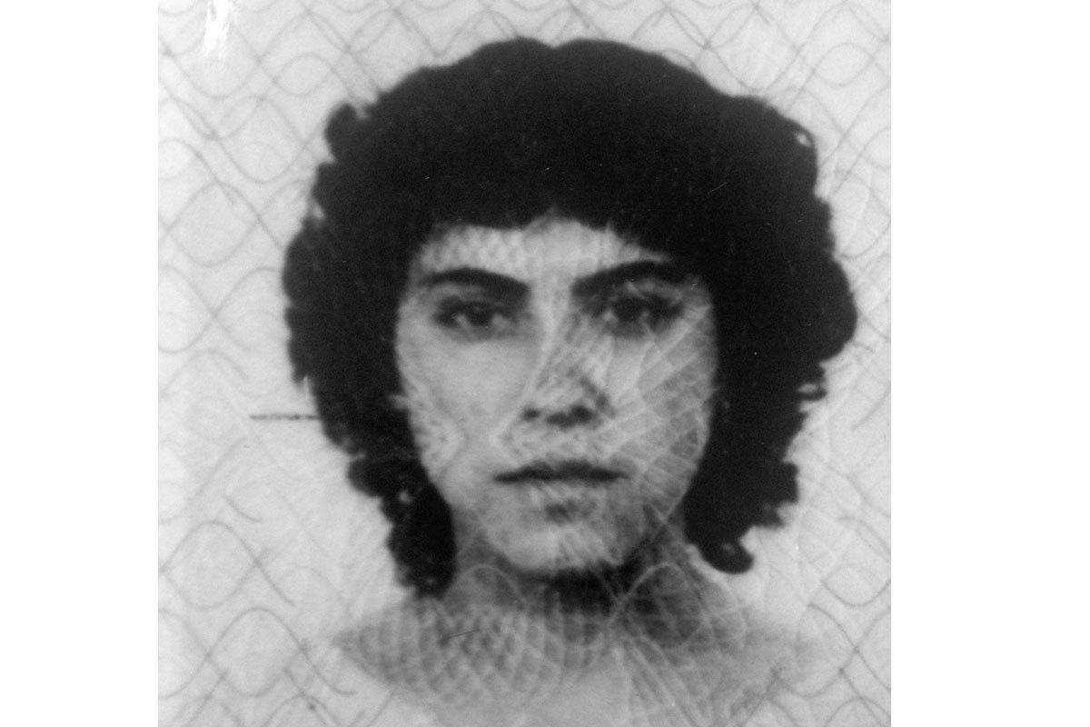 Marisol a los 17 años, antes de vivir en Arica, 1979.
