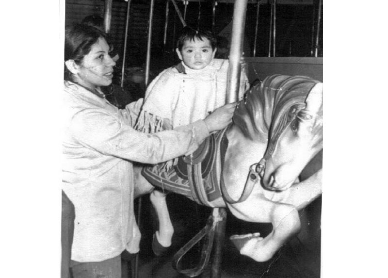 María Isabel y Tamara, 1971.