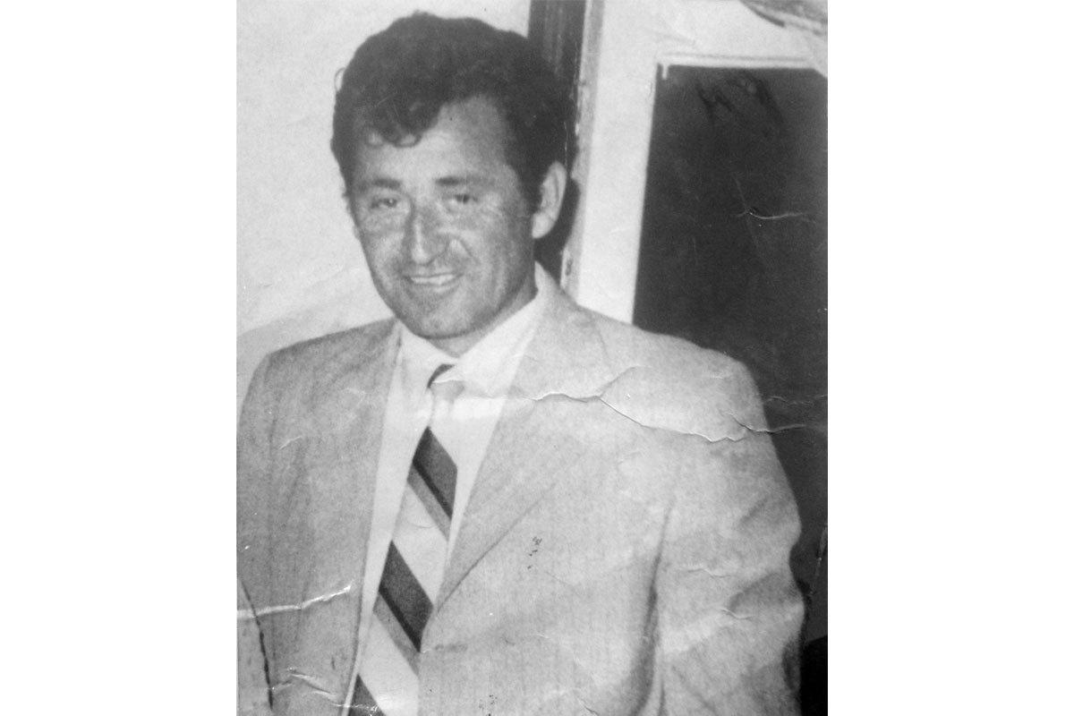 Fotografía de Manuel, alrededor de sus 40 años. Santiago, antes de 1973.