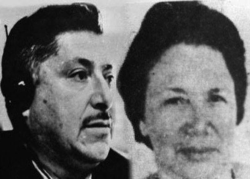 Mery y Bernardo, años '70.