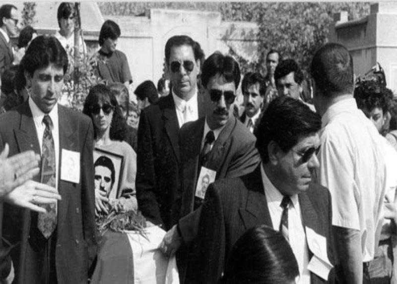 Despedida de Ricardo, Santiago 1996.