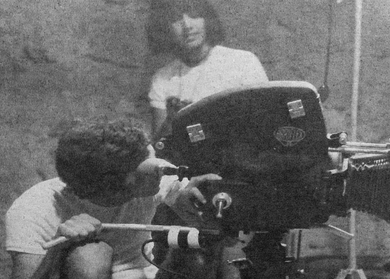 Jorge y su compañera Carmen Bueno, años '70.